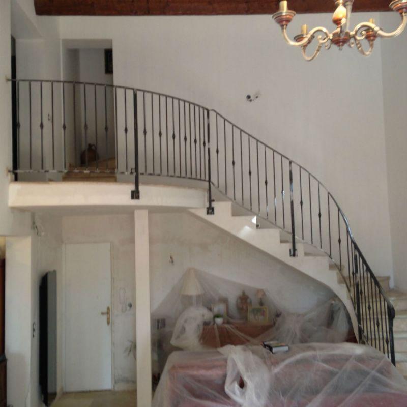 rampe d escalier en fer d billard ferronnerie devey. Black Bedroom Furniture Sets. Home Design Ideas