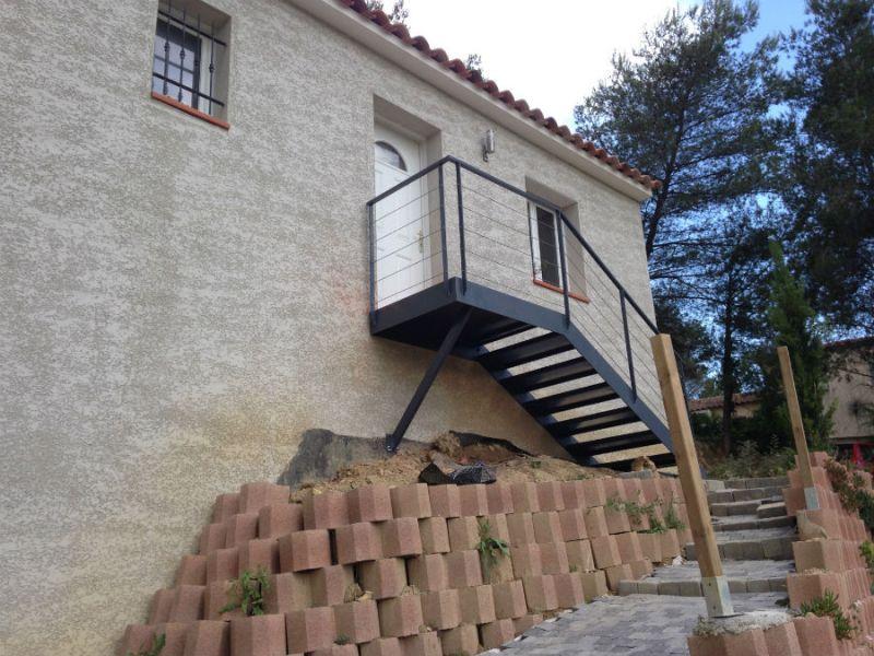 fabrication d un escalier en fer a Aubagne  Ferronnerie Peypin
